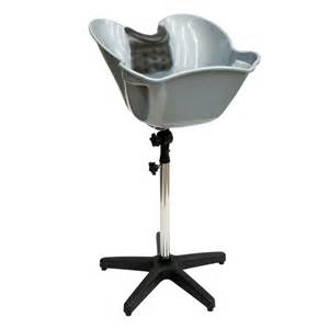 portable adjustable hair basin wash shoo sink bowl gel neck rest gripper set ebay