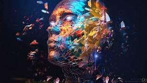 digital, art, , face, , abstract, , deviantart, wallpapers, hd