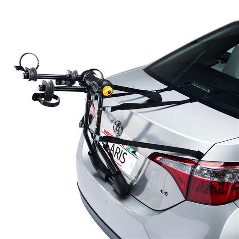 bicycle car racks bike porter trunk 2 bike car rack saris