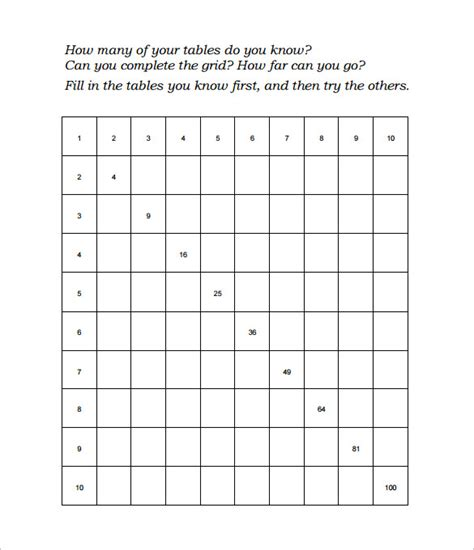 15 times tables worksheets free pdf documents