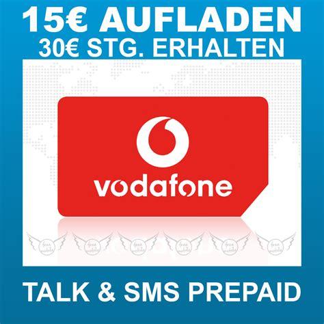Vodafone Karte Aufladen Nummer