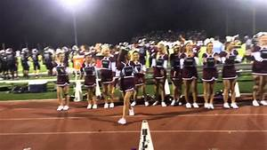 Taylor & Varsity cheer squad @ home game. - YouTube