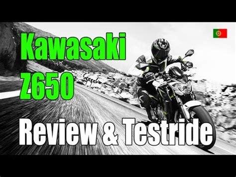 Kawasaki Z650 (2017) Review E Testride! Funnydogtv