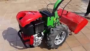 Entrega Motocultor Agria 1011 Arranque Electrico