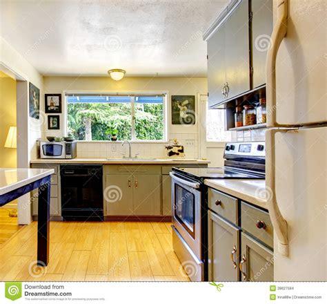 mode cuisine pièce de cuisine de vieille mode photo stock
