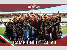 Milan, arriva il primo trofeo dell'era cinese U16