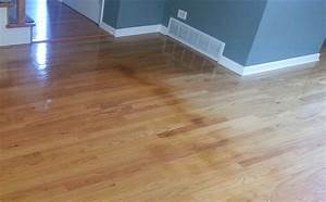 How to remove water stains from engineered wood floors for How to repair water stains on hardwood floors