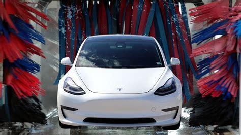 13+ Tesla 3 Car Wash Background