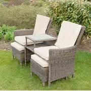 Rattan Garden Chairs Cheap by Azuma Bordeaux 3 Pc Companion Set Wicker Rattan Garden Patio Furniture Chairs