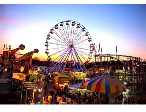 Busy Summer At The Fairgrounds In Hamburg Ellicottville