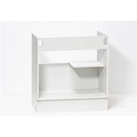 caisson sous evier cuisine caisson de cuisine sous évier se80 delinia blanc l 80 x h