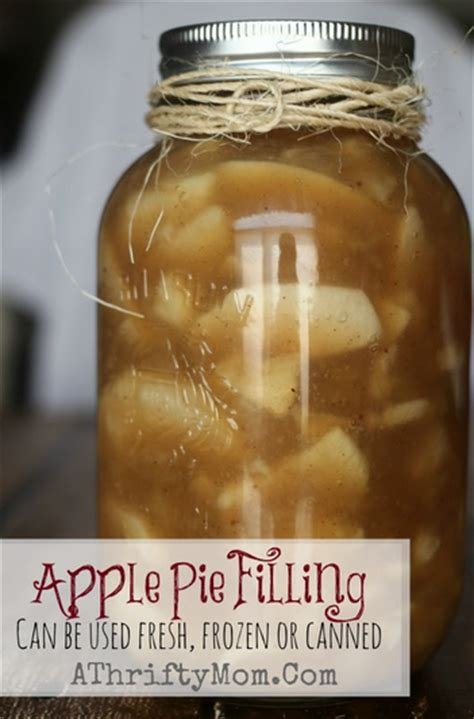 This recipe makes 7 quart jars of filling for apple pies. Apple Pie Filling Recipe ~ Can be used Fresh, Frozen or ...