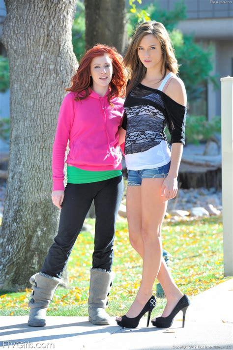 Ftv Girls Elle Alexandra And Malena Morgan Lipstick Lesbians Ftv Girls Pictures And Videos