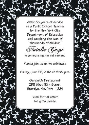 farewell invitation quotes for teachers