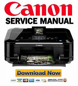 Canon Pixma Mg6120 Service Manual And Repair Guide