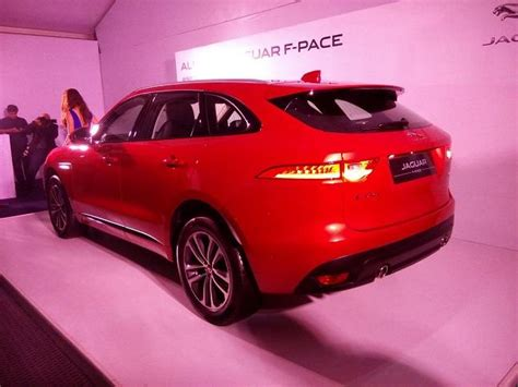 Jaguar F-pace Launched In India At Base Price Of Rs 68.40