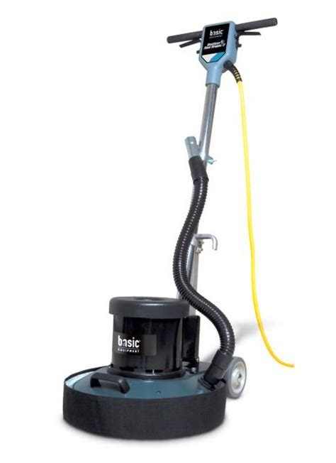 Wood Floor Polisher Buffer by Basic Coatings Floor 17 Inch Dustless Floor Machine
