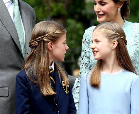 spanish royals attend infanta sofias  communion