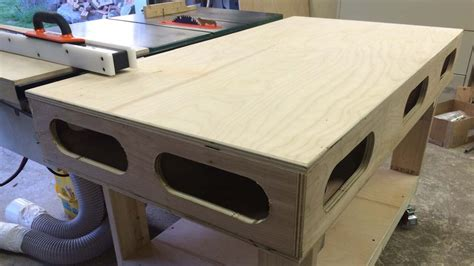 Torsion Box Outfeed & Assembly Table  By Bigfoot11