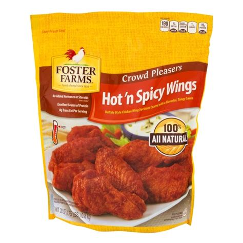 Foster Farms Wings Hot 'N Spicy from Kroger - Instacart