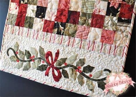 Enchanted Holiday Table Table Runner Shabby Fabrics Table