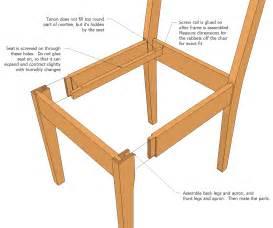 kitchen furniture plans kitchen chair plans