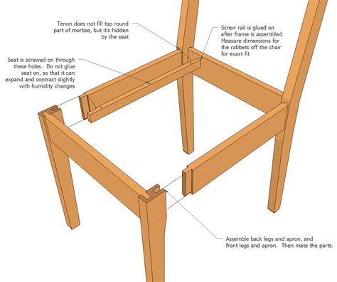 woodwork chair plans  plans