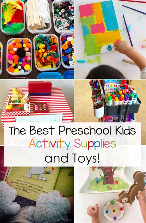 best preschool supplies and toys with 351 | best kids activity supplies
