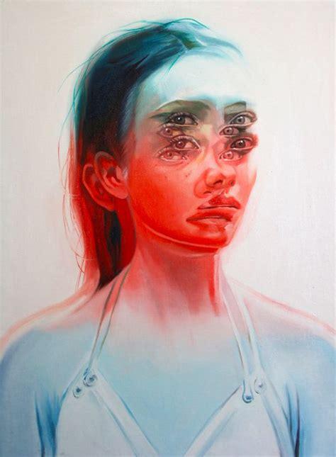 distortion art ideas   pinterest
