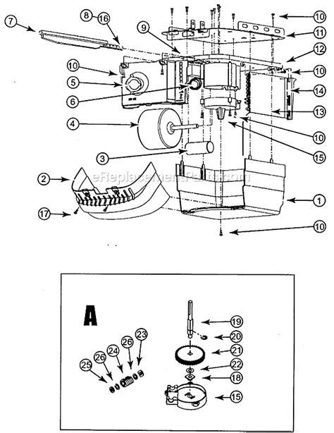genie chain drive garage opener chainlift ereplacementparts