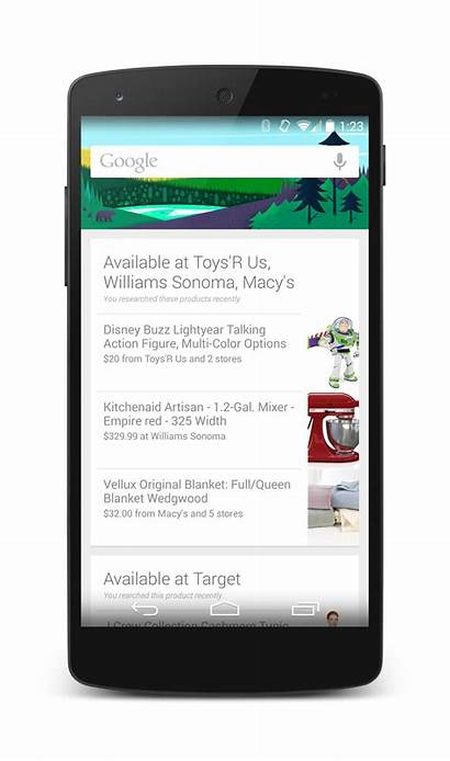 Google Searched Nearby Android Cards Been Marketing