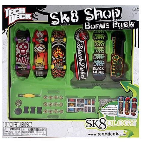 Tech Deck Sk8 Shop Black Label $2499  Tech Deck