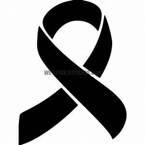 Black Awareness Ribbon clipart