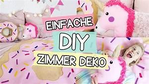 Zimmer Deko Diy : diy pinterest zimmer deko einhorn kissen donut decke girlande selber machen youtube ~ Eleganceandgraceweddings.com Haus und Dekorationen