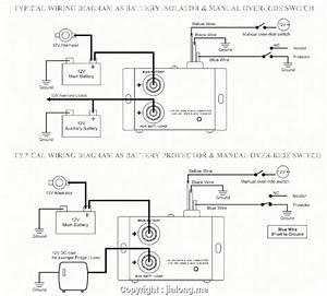 12v Battery Isolator Wiring Diagram