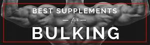 Bodybuilding Supplements Everyone Uses For Bulking