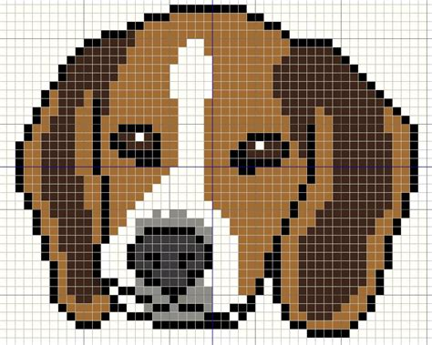 buzy bobbins beagle puppy portrait simple cross sitich