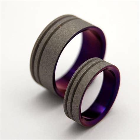 minter richter titanium rings katana mokume gane