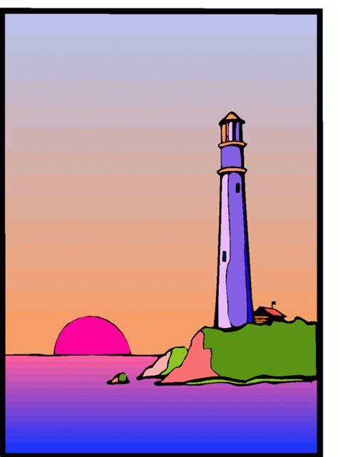 sonnenaufgang leuchtturm ausmalbild malvorlage