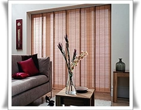panel sliding blind bamboo and or vertical products