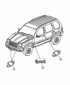 Jeep air bag module and sensors for Jeep airbag sensor