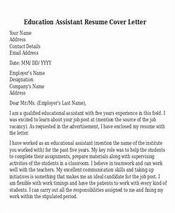 Career Cover Letter Template 14 Education Resumes In Word Free Premium Templates