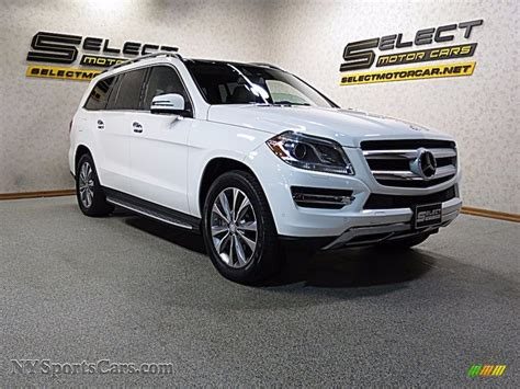 14 city / 19 hwy. 2014 Mercedes-Benz GL 450 4Matic in Polar White photo #3 - 350571 | NYSportsCars.com - Cars for ...