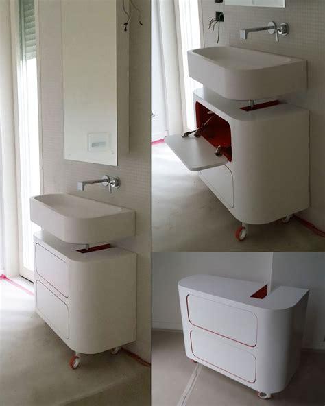 lavabi corian lavabo bagno in corian top mobiletto in legno