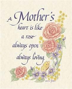 Carol Tribou - A Mother's Heart Size 8x10 ~ Fine-Art Print ...