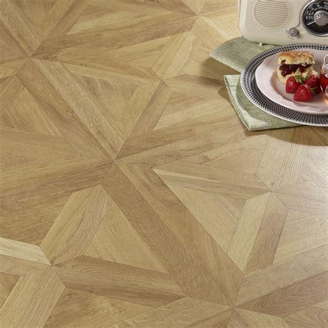 staccato natural oak parquet effect laminate flooring   pack departments diy  bq