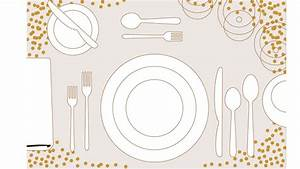 56 Table Setting Placemat Template  7 Best Images Of