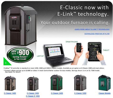 outdoor epa certified wood gasification boiler