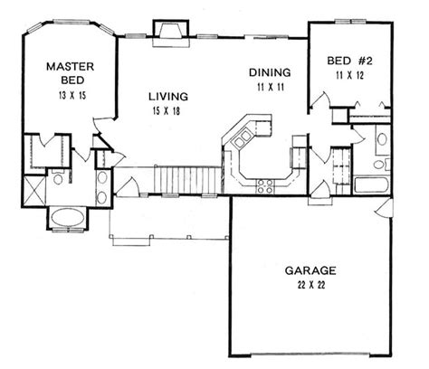 2 bedroom ranch house plans 2 bedroom ranch house plans readvillage luxamcc