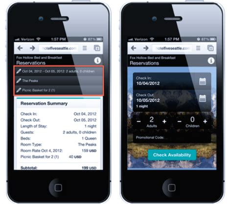 Booking Mobile by Hotel Booking Mobile App User Interfaces